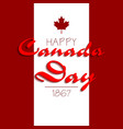 happy canada day3 vector image