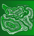 marble hand drawn with dry brush green wave vector image