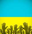 Ukraine Coat art background sign country vector image
