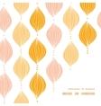 abstract golden ogee frame corner pattern vector image