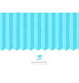abstract white color serrated lines pattern on vector image vector image