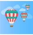 Air colorful balloon vector image