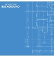 Blueprint architecture plan vector image vector image