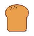 bread slice pastry icon image vector image vector image