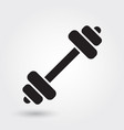 dumbbell icon fitness and gym icon modern simple vector image