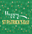 happy st patricks day celebration background with vector image