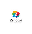 letter Z logo Template for your company vector image vector image