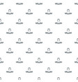 queen pattern seamless vector image
