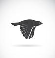 image of an bird icon vector image