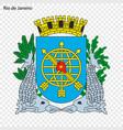 emblem rio de janeiro vector image