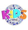 logo for child development organization vector image vector image