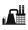 Mining processing plant icon vector image vector image