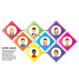 process work business background team office vector image