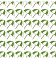 colorful pattern with opened umbrellas vector image