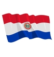 flag of paraguay vector image