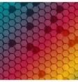 abstract hexagon shape design template