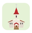 Church cartoon icon vector image vector image