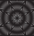dotted halftone spiral pattern or texture vector image