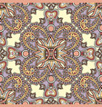 floral seamless background oriental ornament vector image vector image