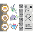 Food and Drink icons set vector image