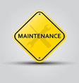 maintenance vector image vector image