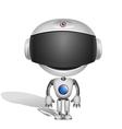 robot Bill vector image vector image