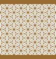 seamless japanese pattern shoji kumiko vector image