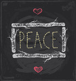 Vintage Christmas Peace Chalkboard Hand Drawn Set