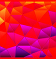 abstract stained-glass triangle mosaic vector image vector image