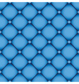 blue leather background vector image vector image