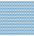 blue zigzag pattern seamless background vector image