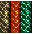 Bright set of 3 seamless vector image