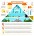 colorful change eras infographics development vector image vector image