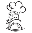 dish and cook vector image