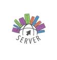 logo internet vector image vector image