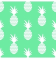 pineapple simple seamless background vector image vector image