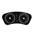 speedometer car speed dashboard panel and vector image vector image