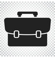 suitcase icon luggage in flat style simple vector image vector image