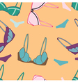 underwear send pattern vector image vector image