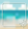 wind rose marine background vector image vector image