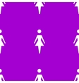 woman restroom web icon flat design Seamless vector image vector image