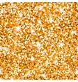 Abstract sparkle golden seamless pattern Metallic vector image
