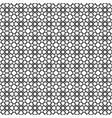 black star shape pattern background vector image