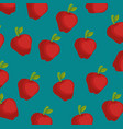 apple farm background vector image