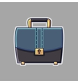 Business suitcase icon vector image vector image