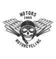 motorbiker vector image
