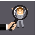 Recruitment or selection concept vector image vector image