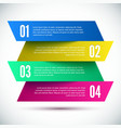 Colorful Banner Design template vector image vector image