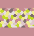 flat stylish background in shades of lime punch vector image vector image
