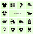 graphics icons vector image vector image